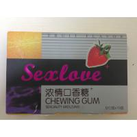 SEX LOVE FEMALE sex product chewing gum wholesale price