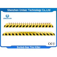 Buy cheap Automatic Electronic Hydraulic Traffic Control Spikes , Buried Free Spiked Road Barrier from wholesalers