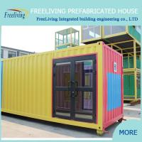 Low cost container house 20ft living container home of hrqg for Maison low cost container