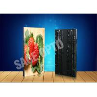 Cheap High Definition LED Curtain Screen Advertising Window Transparent Display for sale
