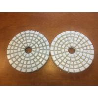 Cheap High Effiective 4'' Dry Diamond Polishing Pads With 5 Steps 50# 100# for sale