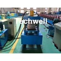 Cheap Custom Made Half Round Gutter Cold Roll Forming Machine For 15 Stations Forming Stage for sale