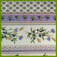 Cheap France print designs of sublimation printing table decration tablecloths for sale