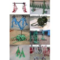 Cheap Sales Cable Drum Jacks,Cable Drum Handling,best Cable Drum Lifting Jacks for sale