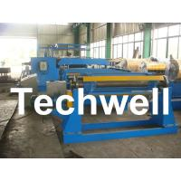 Cheap 380V / 50Hz / 3Ph 30KW Simple Slitting Line For Slitting Coil Into 12 strips for sale
