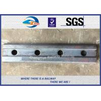 Cheap High Quality Railway Fishplate for BS100A Rail standard Joint bar 50# 4 holes for sale