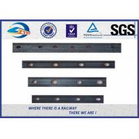 Buy cheap BS Standard Fishplate for BS80A Rail Track Railway Joint Bar With 4 holes from wholesalers