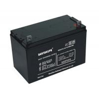 Cheap 12V 100Ah Rechargeable Sealed Lead Acid Battery For Power Systems for sale