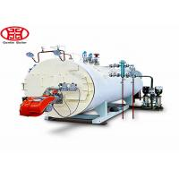 Cheap 3 Ton 3000kg / Hr Horizontal Steam Boiler Oil Gas Fired Quick Install for sale