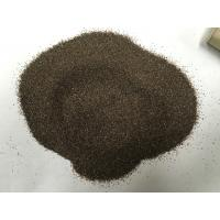Cheap Emery Grinding Powder Abrasive Sand Blasting , Brown Fused Corundum For Grinding Wheels for sale