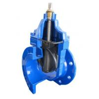 Cheap PN10 DIN 3352 EPDM / NBR Resilient Seated Gate Valve , Temperature -20~120 C wholesale