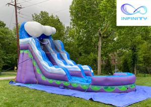 Cheap 2021 Commercial Kids Jumping jungle slide Inflatable Water Slide For sale for sale