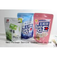 Cheap Personal Care Stand Up Pouch Packaging For Jelly / Pet Food and Washing Powder for sale