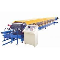 Cheap High Efficiency Mobile Stainless Steel Roll Forming Machine , Gutter Maker Machine 11m * 1.5m * 1.5m Size wholesale