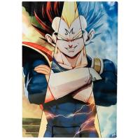 Quality 3D Flip Lenticular Anime Poster Printing Dragon Ball / 3 Dimensional Pictures wholesale