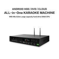 China Professional home ktv karaoke player sing machine hd jukebox with songs cloud,support  H.265 video, build in AGC/AVC on sale