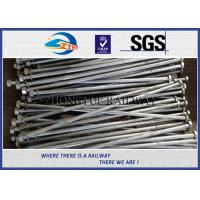 Cheap GB  Standard Hot Dip Zinc Railway HEX Bolt With 24x3x1100mm 45# Material for sale