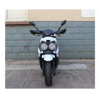 Cheap 50cc adult motor scooters with 2 big head lights and CVT transmission wholesale