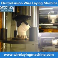 Buy cheap canex wire laying machine molds manufacturing electro fusion fittings, pe coupling wire la from wholesalers