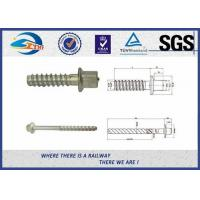 Cheap Square Head / Rectangle Head  Railway Sleeper Screws / Rail Screw Nail For Rail Track for sale