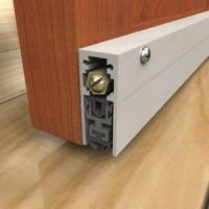 China EPDM Rubber Automatic Door Bottom Seal For Wooden Door , Exterior Door Bottom Seal on sale