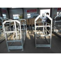 Cheap 5m / 6m / 7.5m ZLP Facade Cleaning Scaffolding / Window Cleaning Platform With Hoist Motor wholesale