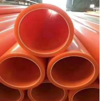 China Plastic MPP pp Power Cable Protection Pipe Sleeve Bushing Hose Piping Conduit Tube Duct on sale