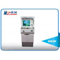Buy cheap Indoor Self Service Digital Advertising Kiosk Dual Display Touch Screen from wholesalers