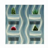 Cheap Designer Wall Planter with High-grade and Environment-protection for sale