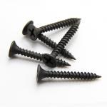 Cheap DIN18182 Black Grey Self Drilling Screws / Phosphated Bugle Head Coarse Thread Drywall Screw for sale