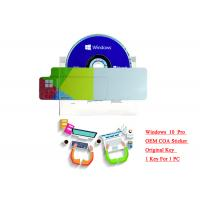 Buy cheap Windows 10 Pro OEM key for Global Use 32 Bits/ 64 Bits Multilingual from wholesalers