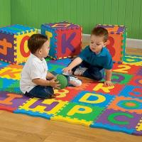 Cheap Interlocking Childrens Play Mat Safety For Playroom , Daycare And Swimming Pool for sale