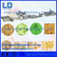 Cheap Single Screw 3D Snack Pellet Machinery for Fried Snacks , Pellets Extruding Machine for sale
