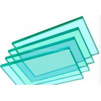 Cheap Flat Panel Display Clear / Tinted Float Glass Thickness 3mm to 19mm for sale