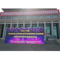 Cheap P8 640 * 640 MM Outdoor Led Screen Hire 6500 Nits Die - casting Aluminum for sale