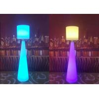 Cheap Wireless Remote Control LED Floor Lamps Led Light Pillars For Living Room for sale