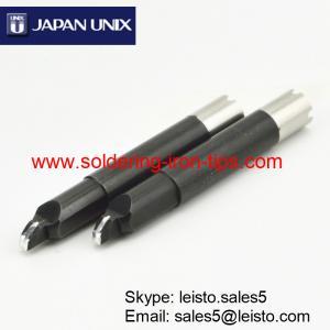 China P1V10-20 Robotic slot soldering iron tips for Japan Unix soldering robot UNIX Cross Bit on sale