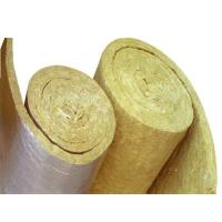 High quality rock mineral wool blanket insulation with for Mineral fiber blanket insulation
