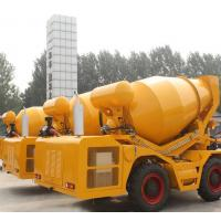 Quality 2.5 cbm self loading truck concrete mixers wholesale