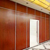 Buy cheap Restaurant Furniture Fireproof Sliding Partition Room Dividers Modular Movable Walls from wholesalers