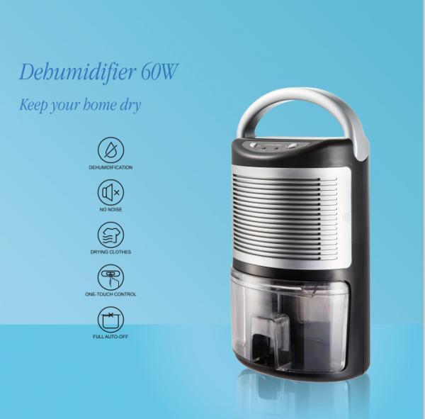 Portable size dehumidifier apply semi conductor inside 60W
