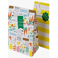 Buy cheap Folded gift paper bag with high quality material & beautiful printing from wholesalers