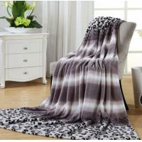 Cheap Cartoon Print Micro Fiber Blanket Fleece 1kg , Soft 100% Polyester Blanket wholesale