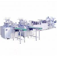 Cheap Heavy Duty Automatic Face Mask Making Machine Stable Operation Low Scrap Rate for sale