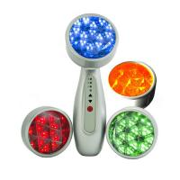 Cheap LED 3 in 1 Micro Vibration Anti Aging Skin Care Device Lightening Photon Therapy for sale
