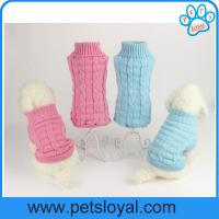 Cheap Factory Pet Supply Warm Fashion Cheap Soft Pet Coat Dog Clothes for sale