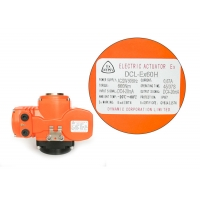China 45s Duty Cycle 70% Explosion Proof Electric Actuator on sale