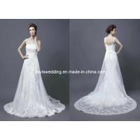China Lace Wedding Gown (WDEI-1328) on sale