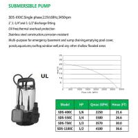Cheap SUBMERSIBLE PUMP SDS-400C SDS-550C SDS-750C SDS-403C for sale