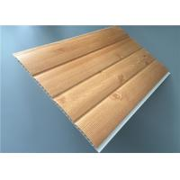 Cheap Fireproof Pvc Wall Panels Lightweight With Four Circular Arc 8.5 Mm Thickness wholesale